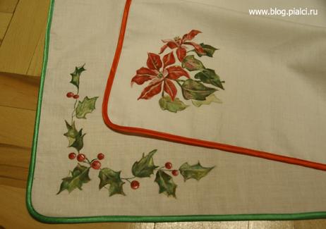Акриловая роспись по ткани