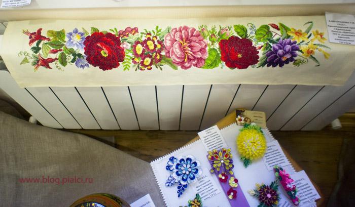 цветы вышивка Кайгородова